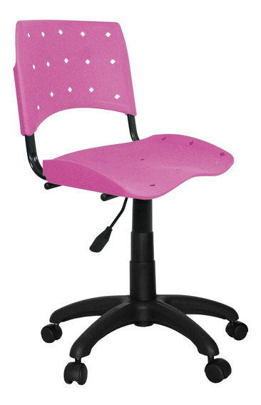 Cadeira Giratória Plastica Ergoplax Colorida Promoção