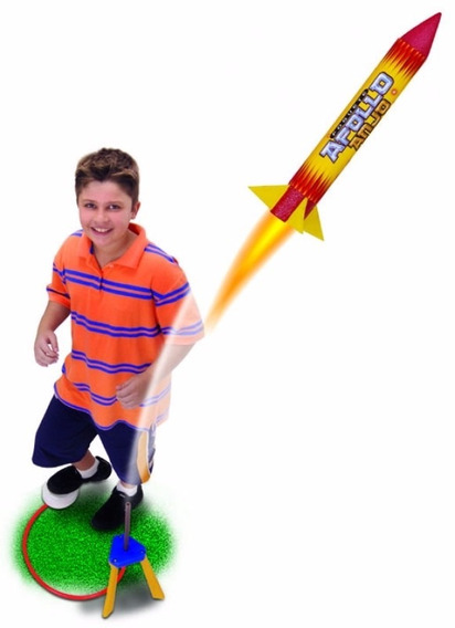 Brinquedo Foguete Apolo Infantil Menino
