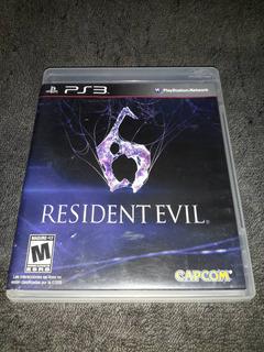Resident Evil 6 Ps3. Venta O Cambio.
