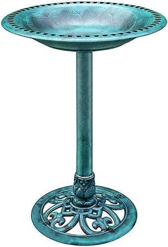 Imagen 1 de 5 de Pedestal De Jardin Tipo Bebedero De Aves Gardman Fuente
