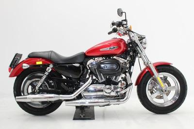 Harley Davidson Xl 1200 C 2013 Vermelha