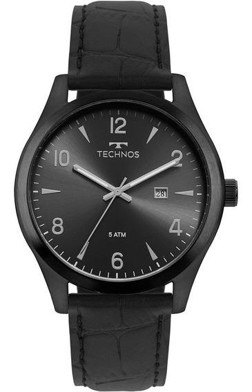 Relógio Technos Masculino Steel Preto 2115mrd/2p