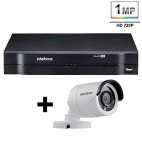 Dvr Intelbras Mhdx 1008 Multi 8 Canais 1 Camera Hikvision Tf