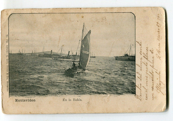 Postal Antigua De Montevideo Año 1906 - Con Estampilla
