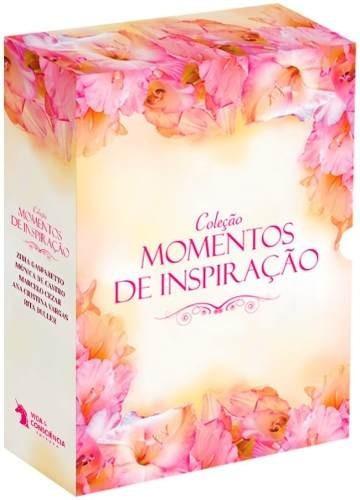 Livro Box - Coleção Momentos De Inspiração - 5 Volumes