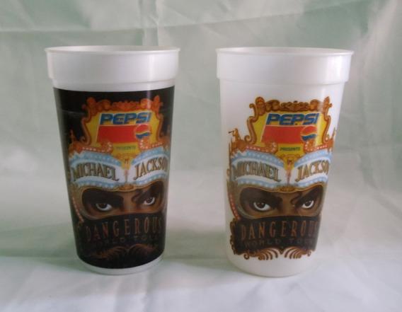 2 Vasos Michael Jackson Pepsi