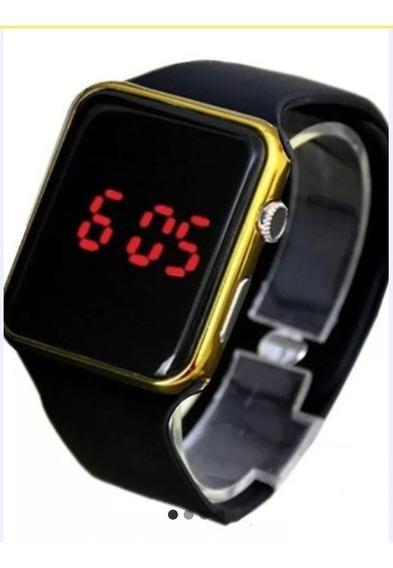 Relógio De Pulso Digital Led Masculino Feminino Frete Grátis