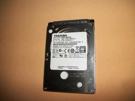 Hd Notebook Slim Toshiba 320gb Para Positivo Xr 3000 3050