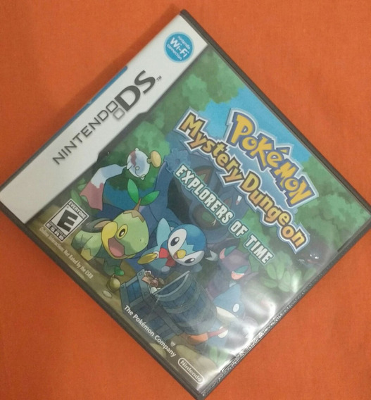 Pokémon Mystery Dungeon (explorers Of Time) Nintendo 3ds