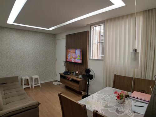Imagem 1 de 21 de Apartamento À Venda, 2 Quartos, 1 Vaga, Santa Maria - Contagem/mg - 21816