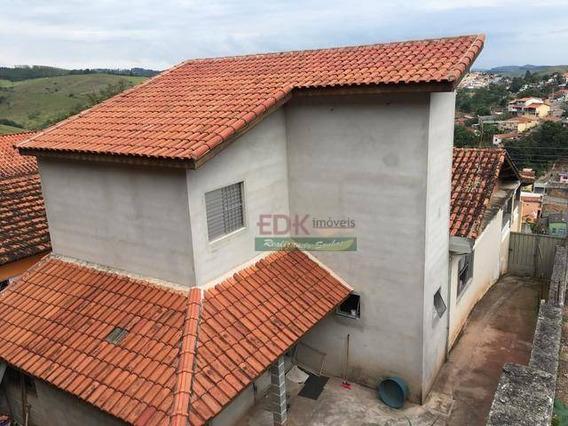 Casa Com 3 Dormitórios À Venda, 120 M² Por R$ 340.000 - Jardim Prado - Santa Branca/sp - So0480