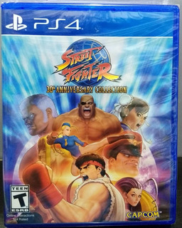 Street Fighter 30th Anniv Collection - Ps4