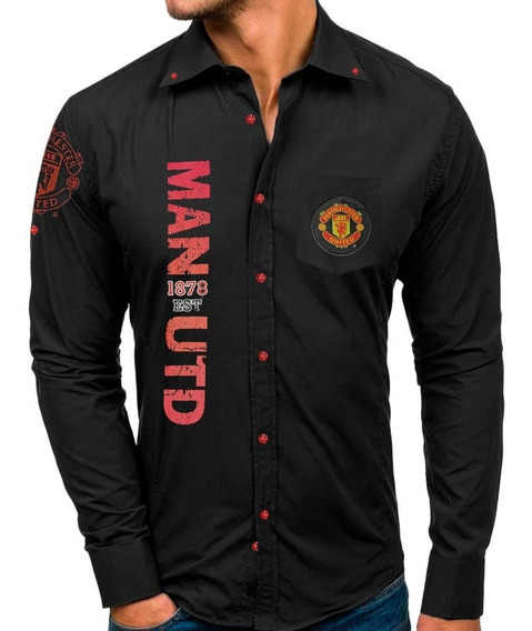 Camisa Club Manchester United Hombre Comtex Mmu2082n