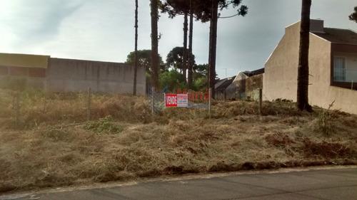 Terreno À Venda Com 360m² Por R$ 225.000,00 No Bairro Santa Cândida - Curitiba / Pr - Mtr-0116