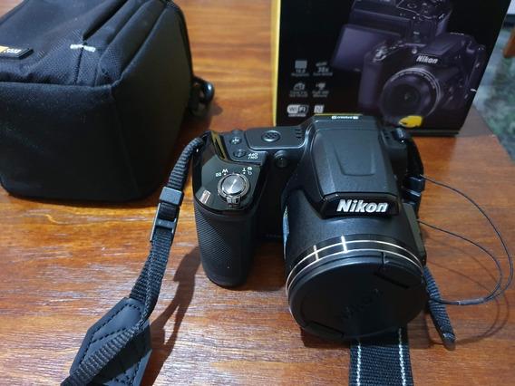 Câmera Nikon Coolpix L840 Com Case Logic Completa Na Caixa