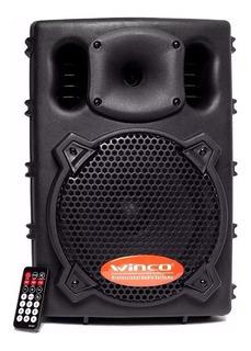 Parlante Portable Gran Potencia 6000w 150rms Winco W-208