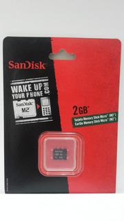 Memoria Sandisk M2 2gb