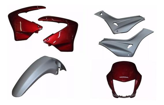 Kit De Carenagem Honda Falcon Nx 400 - 2008 Vem S/ Adesivos