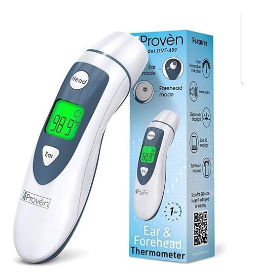 Termometro Infrarojo Digital Marca Proven Bebe Niño Salud