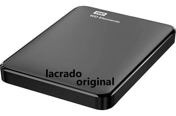 Hd Externo 1tb Wd Portatil Western Digital Lacrado 2 3.0 Bac