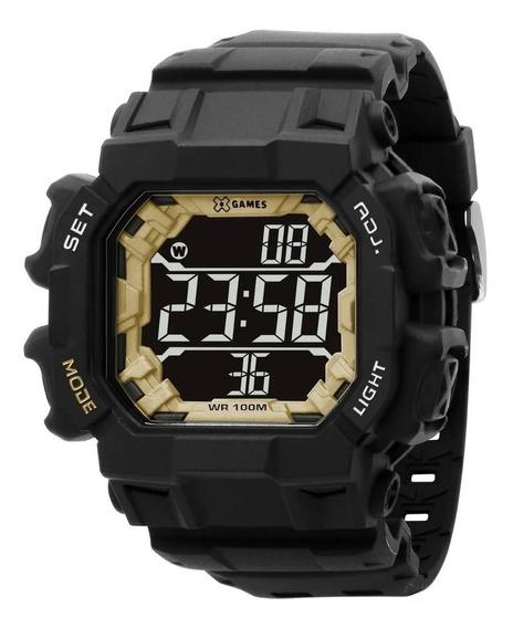 Relógio X-games Masculino Preto Digital Xgppd141 Pxpx