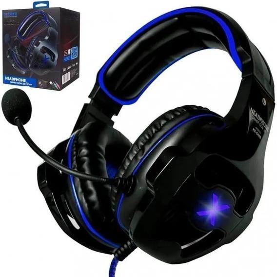 Headset Gamer Fone C/led C/mic Efeito 7.1 Usb P2x2 -hf-g650
