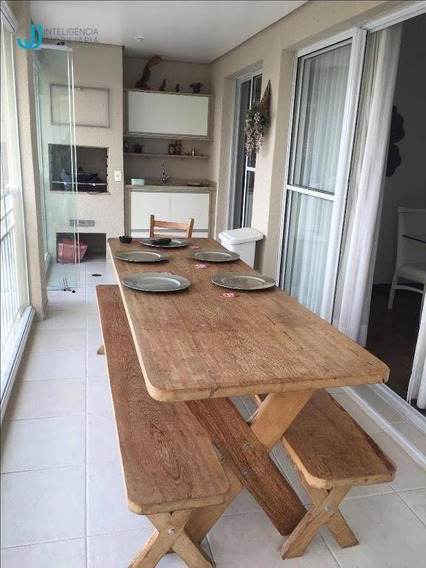 Apartamento Com 3 Dormitórios À Venda, 129 M² Por R$ 685.000,00 - Vila Nova Socorro - Mogi Das Cruzes/sp - Ap0063