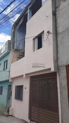 Imagem 1 de 13 de Sobrado Com 2 Dormitórios À Venda, 60 M² Por R$ 130.000 - Jardim Cipreste - Santo André/sp - So1949