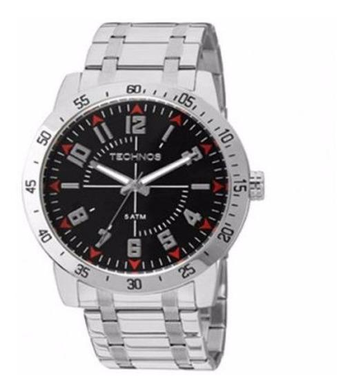 Relógio Technos Masculino Militar 2035lyg/1p Aço Analogico