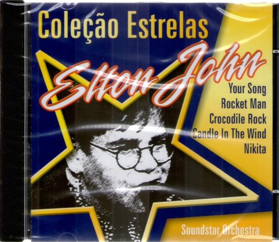 Cd Coleção Estrela Elton John - Soundstar Orchestra -lacr.!