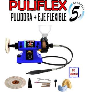 Torno Mecanica Dental Colgante + Pulidora 2 En 1 - Puliflex-