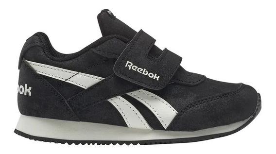 Zapatillas Reebok Moda Royal Classic Jogger 2 Kc Bebe Ng/bl