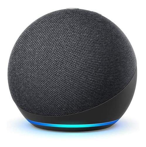 Imagen 1 de 4 de Amazon Echo Dot 4th Gen con asistente virtual Alexa charcoal 110V/240V