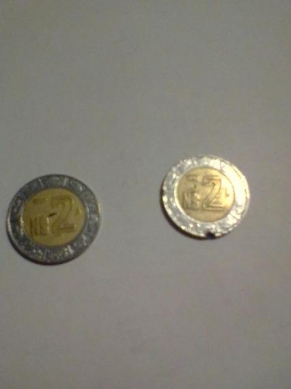 Moneda De Nuevo Peso Mexicano De $2 Pesos Año 1992