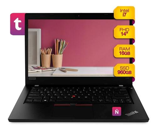 Imagen 1 de 10 de Notebook Lenovo Thinkpad 14p Intel I7 Ssd 960gb 16gb Win10