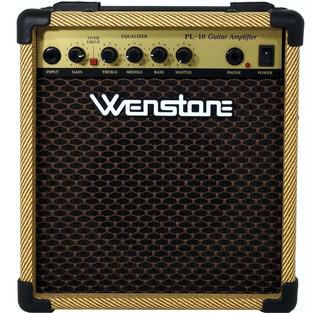 Pl-10 Guitarra Doble Canal 10 W Parlante 8 Wenstone