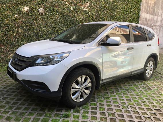 Honda Crv Lx 2.4 Automatica - Blanca