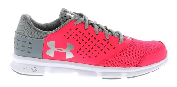 Under Armour Tenis Micro G Rave Mujer Run Correr Gym