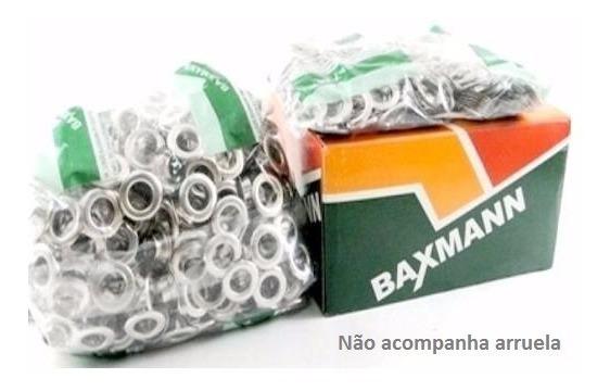 Ilhós Nº 51 - 9,5mm - Pacote Com 1000 - Produto Nacional