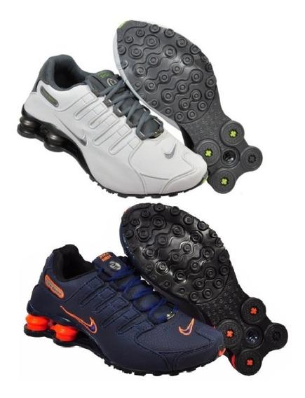 Tênis Nike Sxhox Nz 4 Molas Masculino Feminino Kit 2 Pares