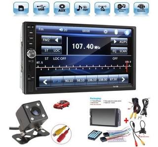 Reproductor Mp5 De Visión Trasera Bluetooth Para Auto 7 In