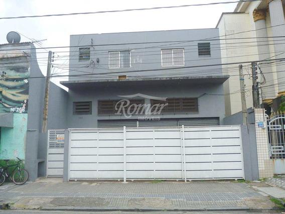 Galpão, Macuco, Santos, Cod: 626 - A626