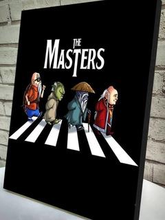 Quadro The Masters Em Canvas 20x30