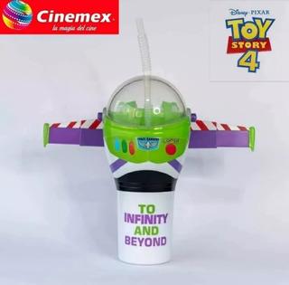 Toy Story 4 Vaso Buzz Cinemex Sellado