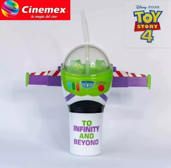 Toy Story 4 Vaso Buzz Cinemex Sellado