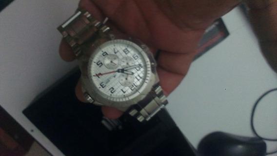Reloj Lotus Plata Cronografo Ilmos10 Con Caja , Envio Gratis