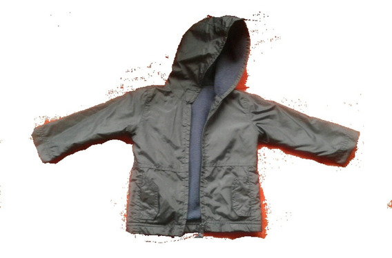 Campera Cheeky Baby Xl Azul Colegial Impermeable Polar