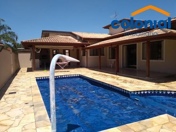 Casa A Venda Condomínio Campos Do Conde I - Paulínia - Ca00929 - 34473217