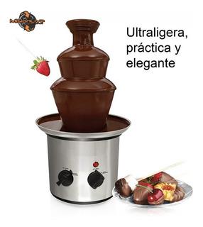 Fuente Chocolate Cascada Maquina Fondue 3 Niveles Oferta !!!