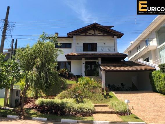 Charmosa Casa Sobrado À Venda No Condominio Bosque De Grevilea Em Vinhedo - Sp. - Ca0160 - 4903423